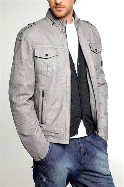 Классическая мужская куртка под пиджак