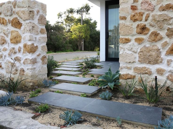 abyss split stone tiles outdoor flooring by eco outdoor - Matchstick Tile Garden Decoration