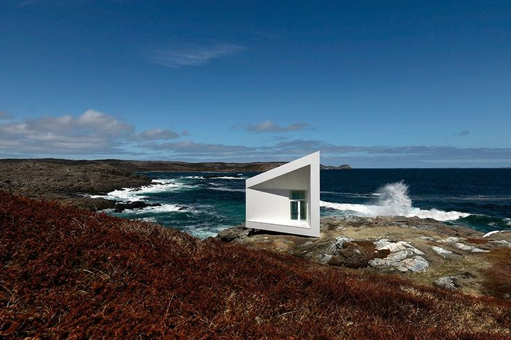 The 2015 Architecture + Design Film Festival Winnipeg opens with a presentation of Strange and Familiar: The Architecture of Fogo Island (2014) by Katherine Knight and Marcia Connolly. The documentary explores architect Todd Saunders's sculptural artist studios and inn on Fogo Island, the largest island of Newfoundland and Labrador.