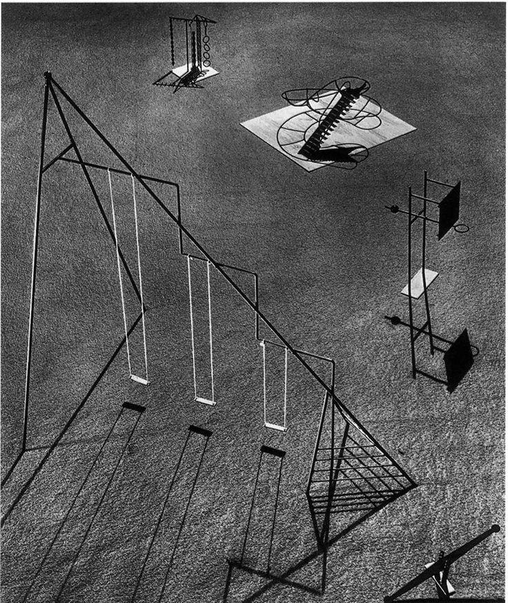 sculpted landscapes Isamu Noguchi's playgrounds