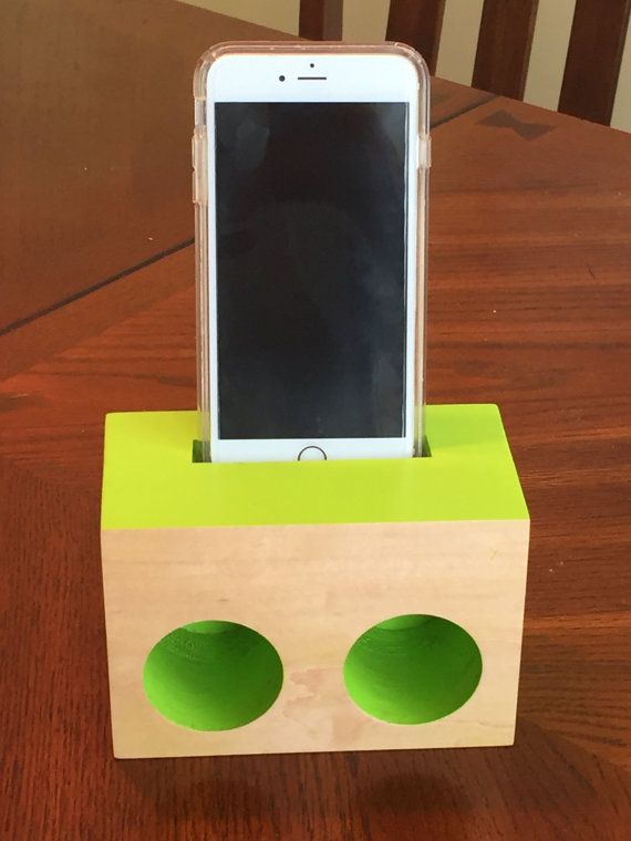 iPhone speaker/Passive amplifier by JohnRoseDesigns on Etsy