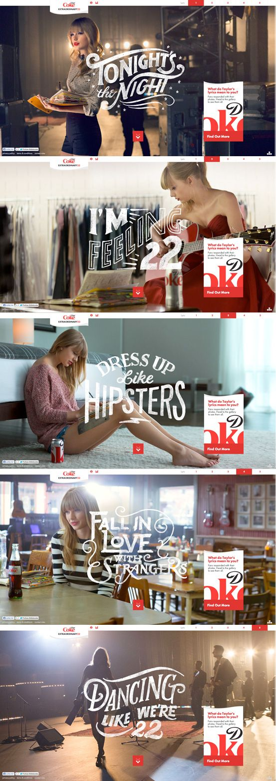 Extraordinary 22 website | Agency: Droga5 | Typographer: Jon Contino #webdesign #ux #ui 121 55