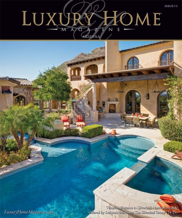luxury home magazine of arizona issue 73 cover photography by high res media llc