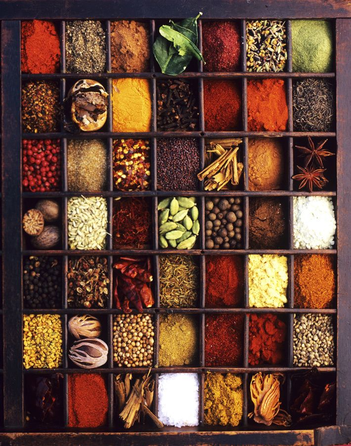 Spices can be added to your compost bin.