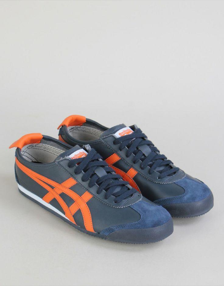 Mexico 66 Sneakers - Navy / Orange