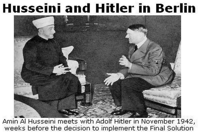"""""""El Mufti fue uno de los iniciadores de la aniquilación sistemática de los judíos europeos, y ha sido asesor y colaborador de Eichmann y de Himmler en la ejecución de su plan… Él era uno de los mej…"""
