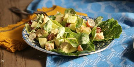Chicken Salad with Apples and Grapes Recipes | Food Network Canada