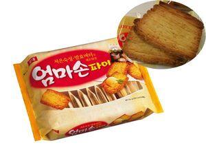 【韓国ロッテ】Mom's Homemade Pie(お母さんのホームメイドパイ)vs 不二家 ホームパイ