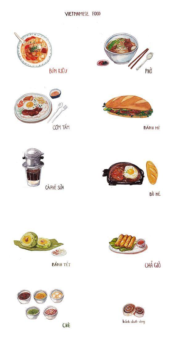 Vietnamese food on Behance