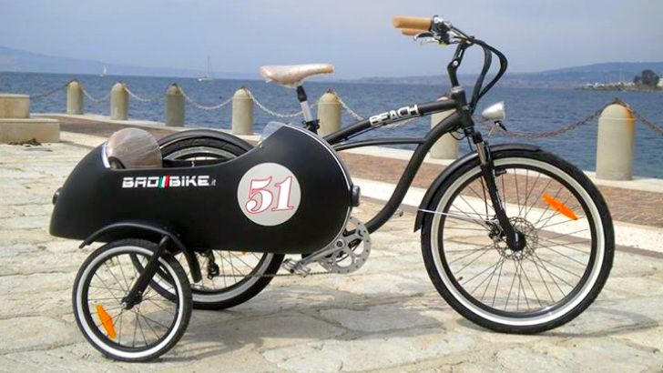 E-BIKES POCKET GUIDE ( to be) - this is cool: An Electric Sidecar Bicycle, How Cool Is That?