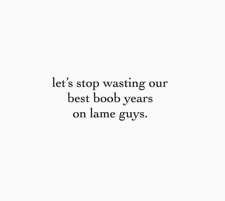 love this! My best boob years were in my 20's