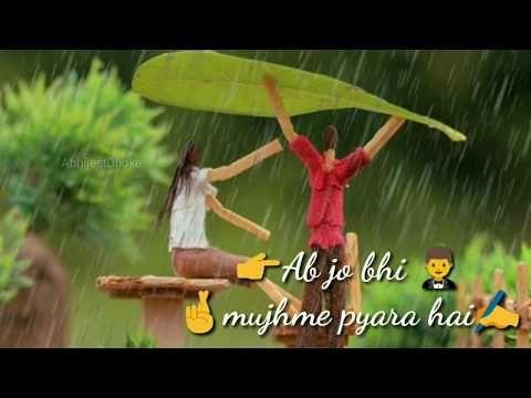 Sad romantic version WhatsApp status Arijit Singh half girlfriend
