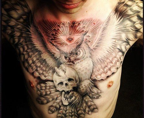 #ChestPiece Amazing Tattoo