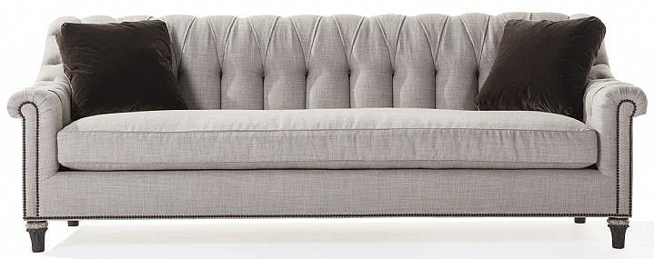 Genovese Sofa  Traditional, Transitional, Upholstery  Fabric, Settee by Ebanista