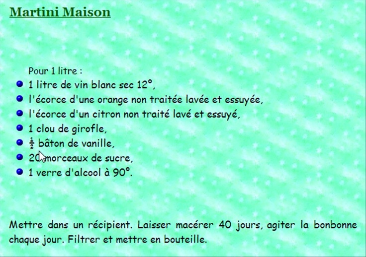 MARTINI MAISON