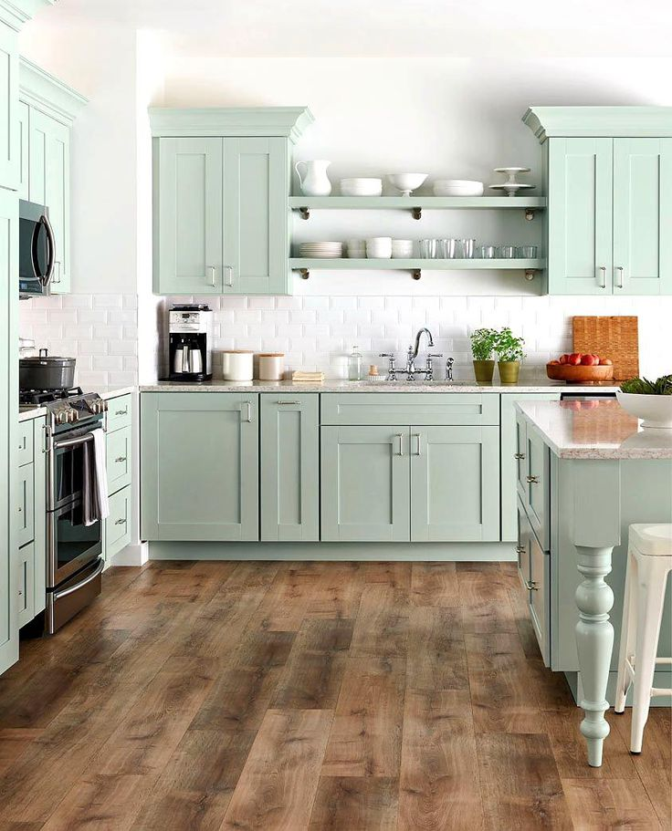one sided galley design no over the