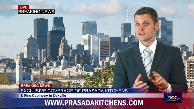 PRASADA in the news!   Funny Ad. PRASADA Kitchens & Fine Cabinetry has just received another five star review for kitchen company Oakville.