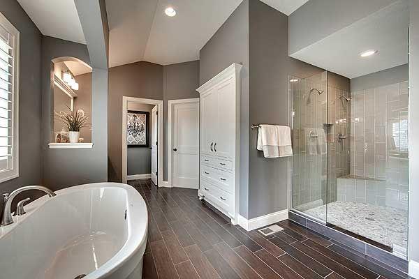 Master Bath View #2, house plan 73330HS, Craftsman open floor plan