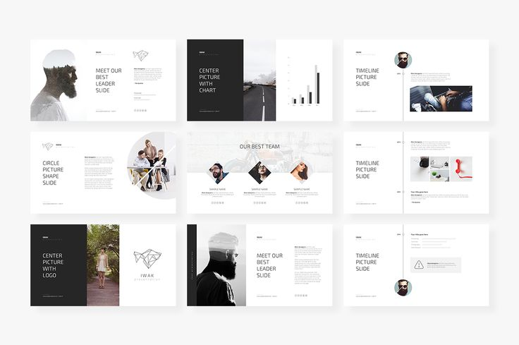 IWAK PowerPoint Template by Angkalimabelas on @creativemarket