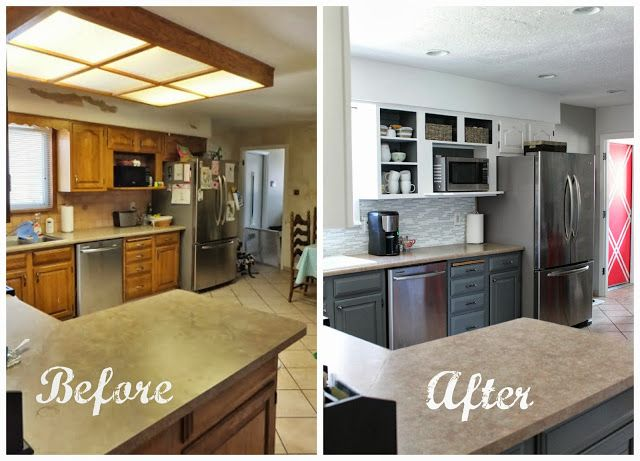 Overhead Flourescent Lighting For Kitchens
