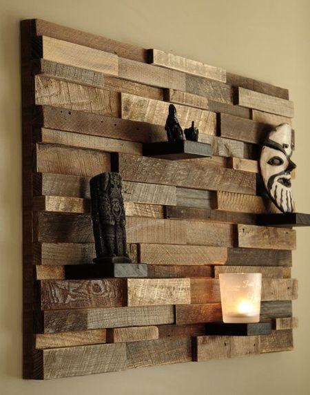 Easy designer wood shelf ideas that you can DIY