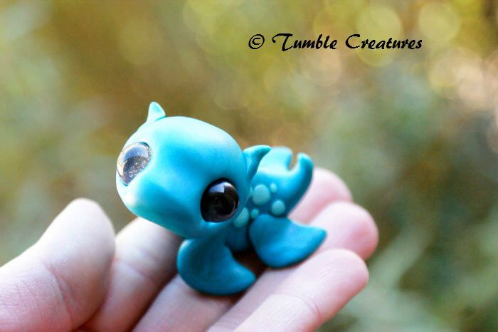 Loch Ness Monster Tumble Creature 'Nessie' Sculptober #3 by TumbleCreatures on Etsy https://www.etsy.com/listing/206150691/loch-ness-monster-tumble-creature-nessie