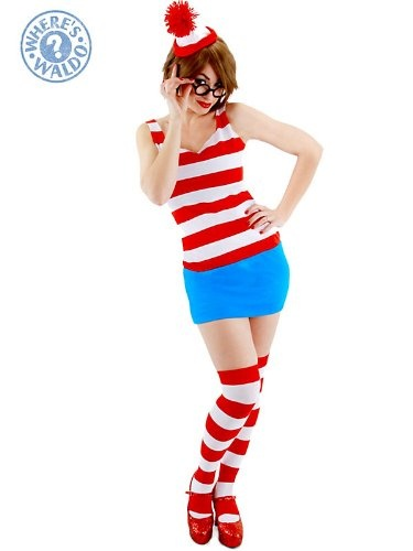 Wheres Wally Fancy Dress Outfit