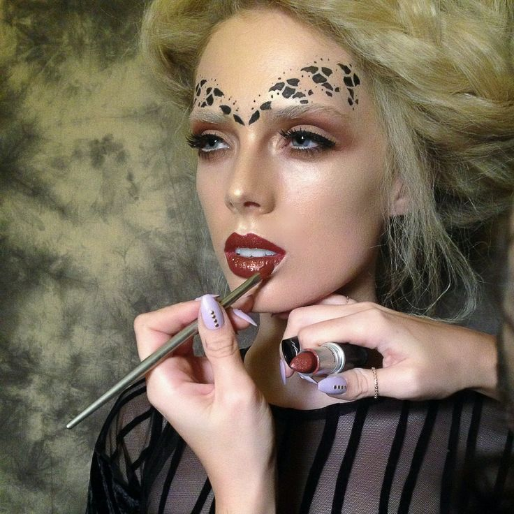 Kiss Face Makeup: 416 Best Avant Garde Make-UP Images On Pinterest