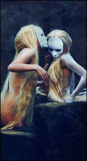 Masks and creepy girls