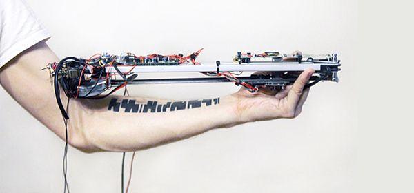 Dit instrument maakt 'muziek' met je tatoeage