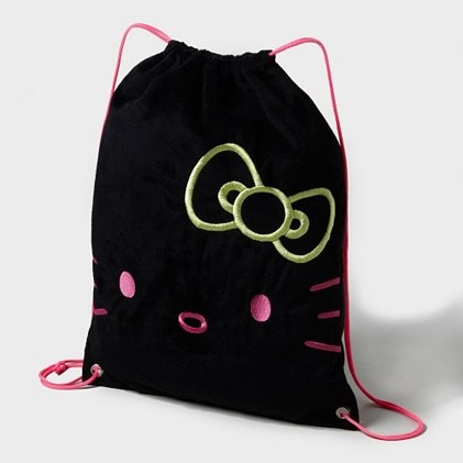 516b1c7522 Hello Kitty Neon Drawstring Bag