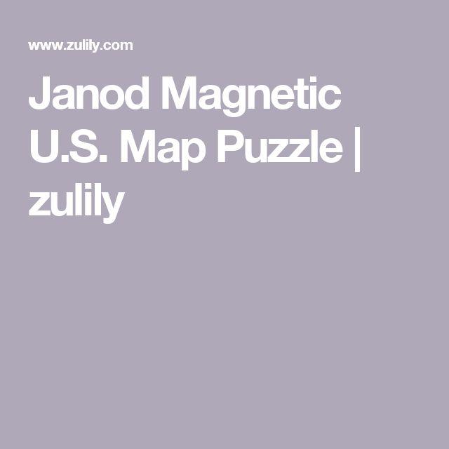 The Best Janod Ideas On Pinterest Faire De Léquitation - Magnetic us map puzzle janod