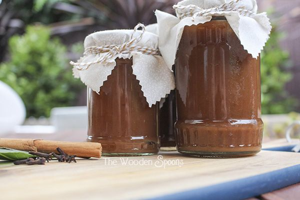 Spiced Apple Sauce   The Wooden Spoons