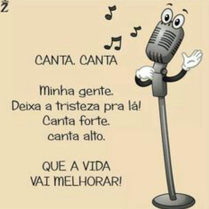 """""""Canta canta minha gente  Deixa a tristeza pra lá Canta forte canta alto  Que a vida vai melhorar""""  Martinho da Vila  @OlhardeMahel #MartinhodaVila #música #músico #cantor #letra #samba #alegria #esperança #inspiração #OlhardeMahel #pacontecimentos #musician #liric #singer #song #hope #joy #bliss"""