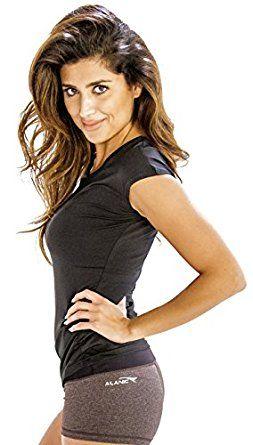 #Cap #Sleeve #Tee For Women In Charcoal Grey