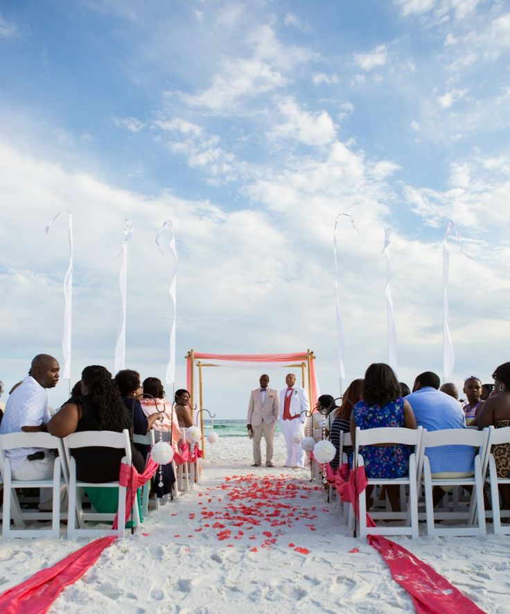 Destin Beach Weddings: 17 Best Images About Coral Beach Wedding On Pinterest