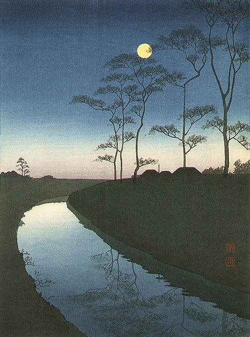 【日本の機微】心が静かに揺れる「夜影を照らす月」たち。明治の浮世絵画家・庄田耕峰(Shoda Koho) が素晴らしい