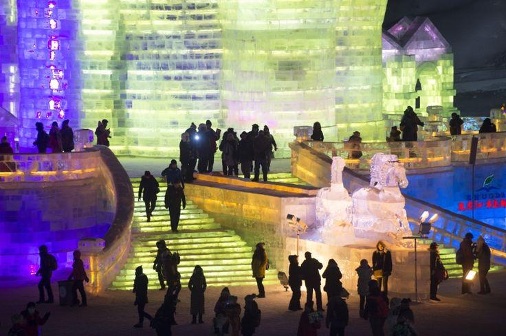 Harbin, China: Festival de Hielo