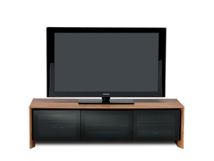 BDI Casata 8627 Walnut Low Profile Home Theatre TV Furniture