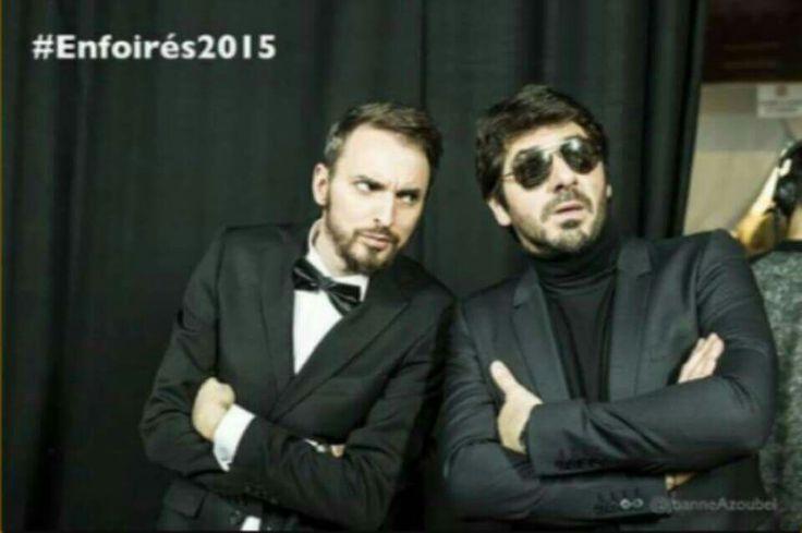 Christophe Willem et Patrick Fiori