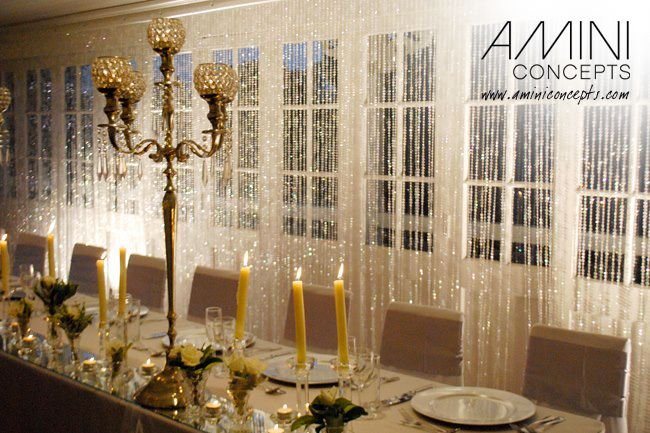 Add some glimmer and sparkle to your event with our amazing crystal back drops. Great for modern, elegant themed weddings, 21st, bridal showers and more! #eventstyling #events #wedding #crystals #shimmer #brisbane #queensland #australia