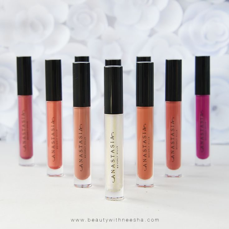Review and Swatch Anastasia Beverly Hills Lip Glosses Summer 17 Collection     @beautywithneesha www.beautywithneesha.com