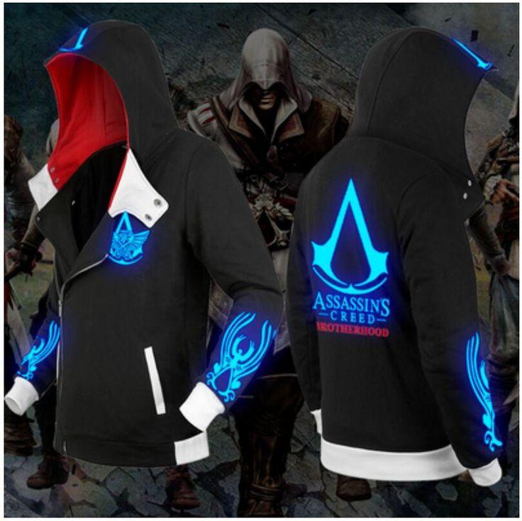 Assassins Creed Sweatshirt - Assassin Clothing - Assassin's Creed Hoodie Jacket