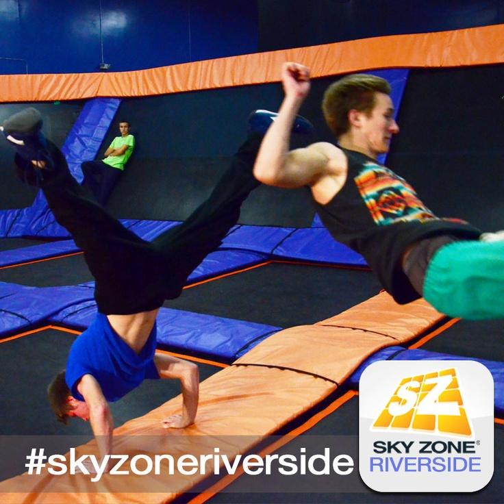 Hang With Friends! #skyzonecoronariverside #skyzone #fun #jump #corona #riverside #california #igers #bounce #kids #teenagers #trampoline #play #fitness #health #foampit #exercise #jumphigh #openjump #gymnastics #tumbling #workout #fit #fitness #trampoline #birthdayparty  (951)-354-0001  4031 Flat Rock Dr.,  Riverside, CA  92505   AT RIVERWALK BUSINESS PARK