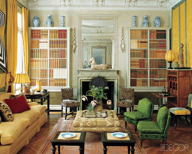 Beaux Arts Paris home of fashion and interior designer Rose Anne de Pampelonne - ELLE DECOR
