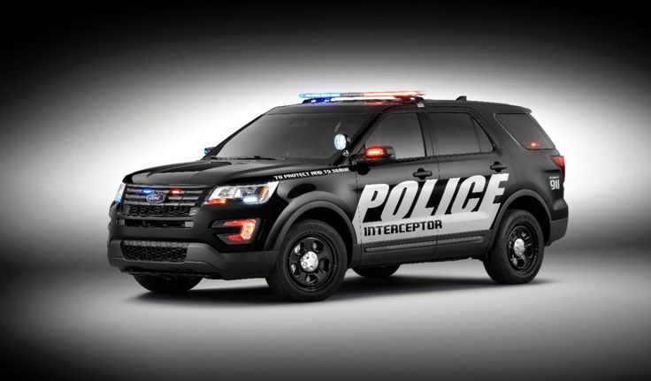5. Ford Police Interceptor Utility 3.5L EcoBoost AWD