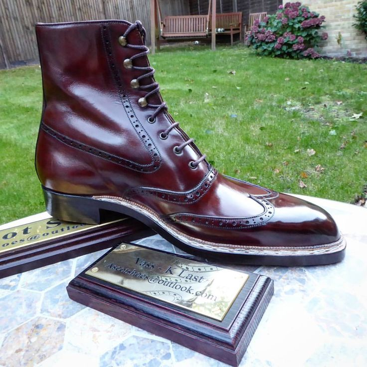Ascot Shoes — Please say hello to the Oxford Budapest bigger and...