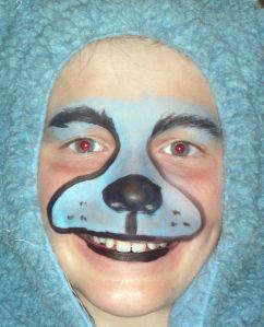 Teddy Bear Face Paint