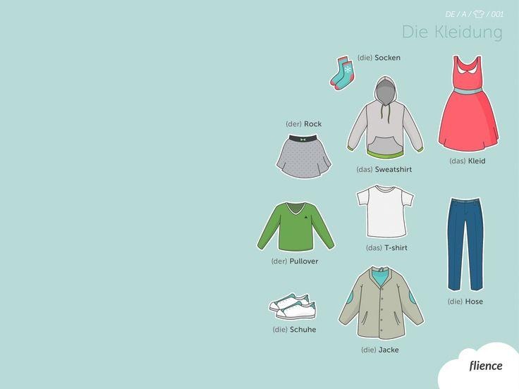 Clothes_001_de #ScreenFly #flience #german #education #wallpaper #language