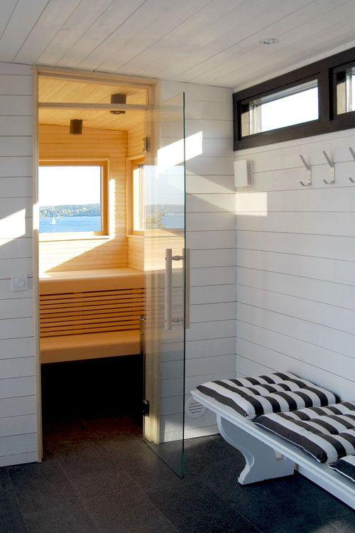 våra attefallshus och friggebodar kan med fördel användas som bastu med relaxdel.